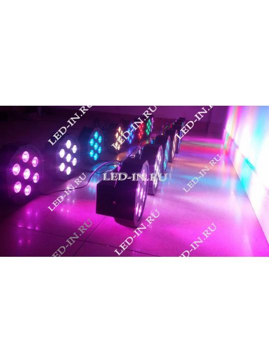 LED Par 7*10 Вт  RGBW 4 в 1