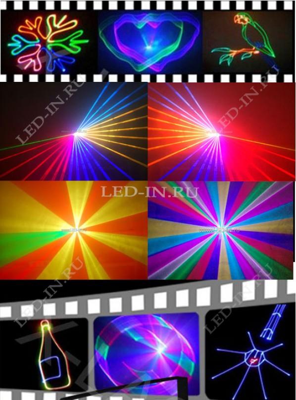 Лазерный анимационный  проектор 30К