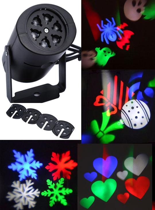 КОМПЛЕКТ: Лазерный проектор + Светодиодный проектор