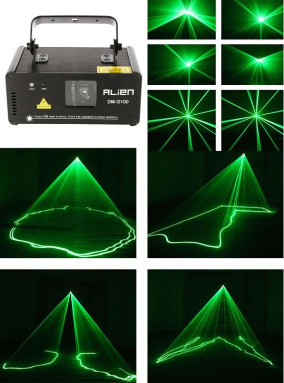Лазерный проектор - зеленый