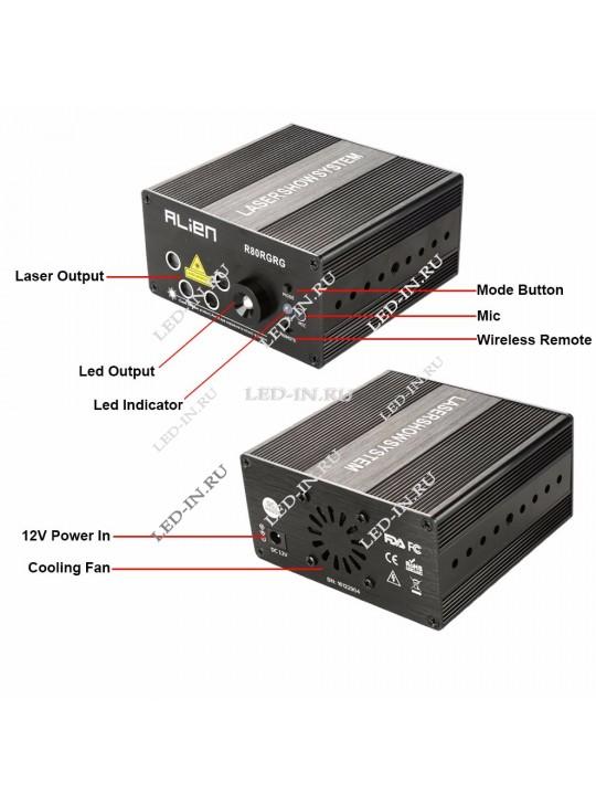 Светодиодно-лазерный шоу-проектор с95
