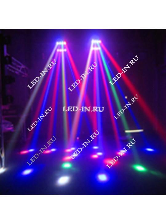 Светодиодный спайдер 24 RGBW