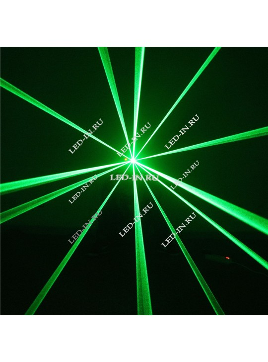 Лазерный проектор красный и/или зеленый