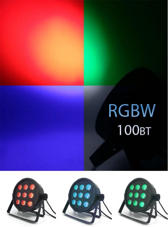 LED Par 9x10W RGBW