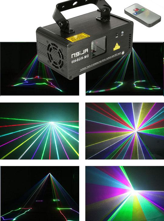 Лазерный проектор RGB400
