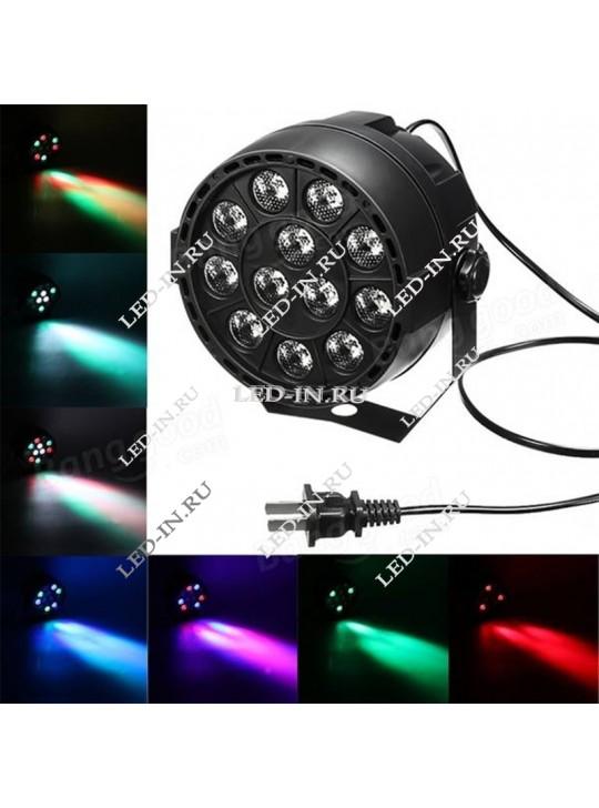 Мультицвет 12 LED DMX (уцененный)