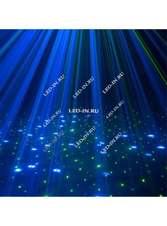Светодиодно-лазерный проектор 3 в 1 -  Комбо