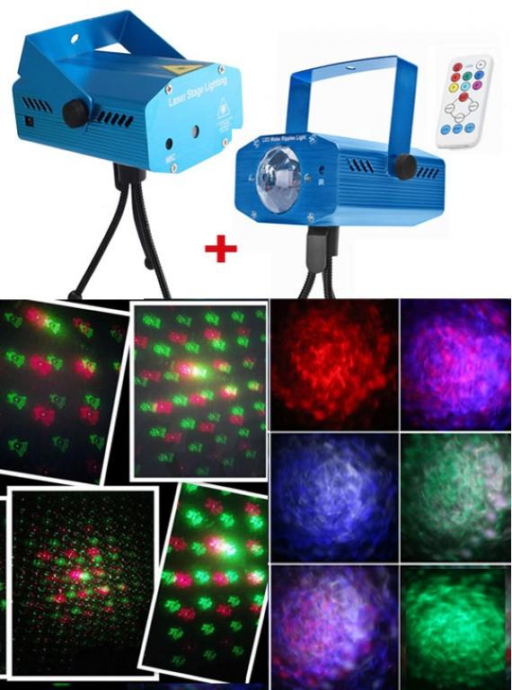 КОМПЛЕКТ #7: Лазерный + светодиодный проектор