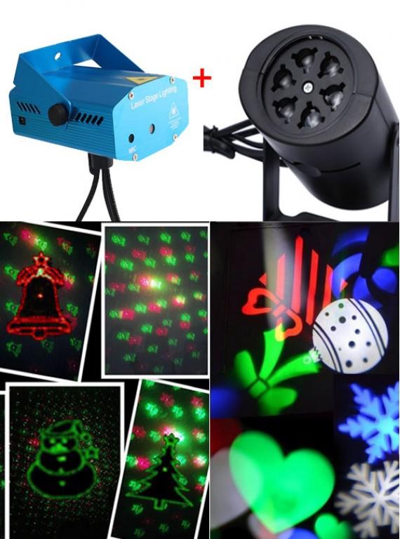 КОМПЛЕКТ  #8: Лазерный + светодиодный проектор