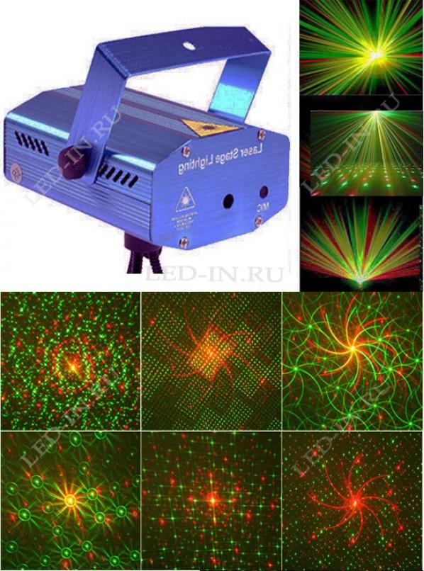 Лазерный проектор X16 /уцененный/
