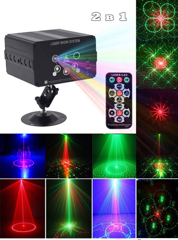 Лазерно-светодиодный проектор с48