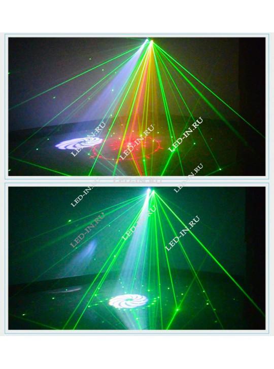 Лазерно-светодиодный проектор с52