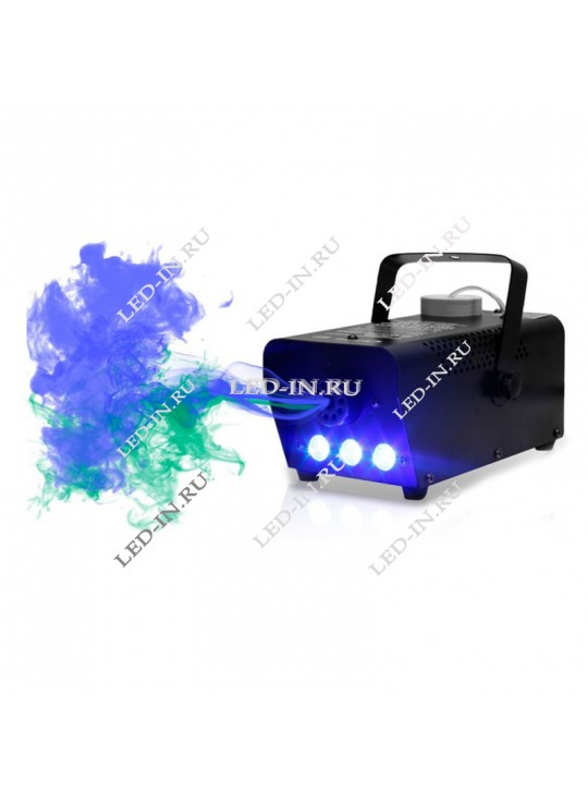Дым-машина, генератор тумана с подсветкой