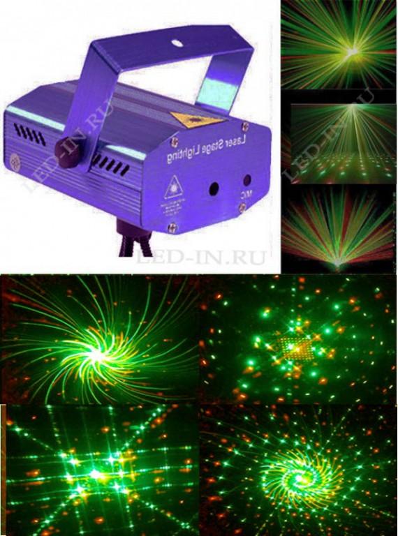Лазерный проектор X15