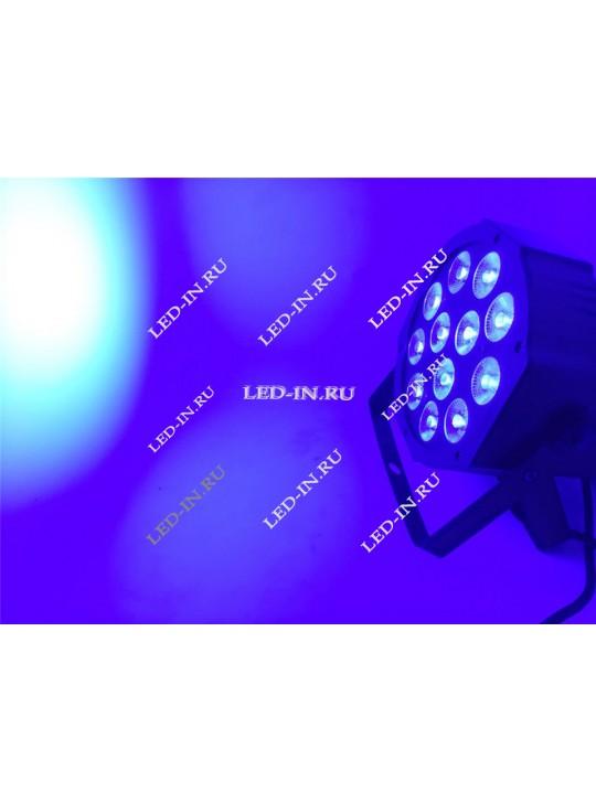 RGBW-прожектор 12х12 Вт