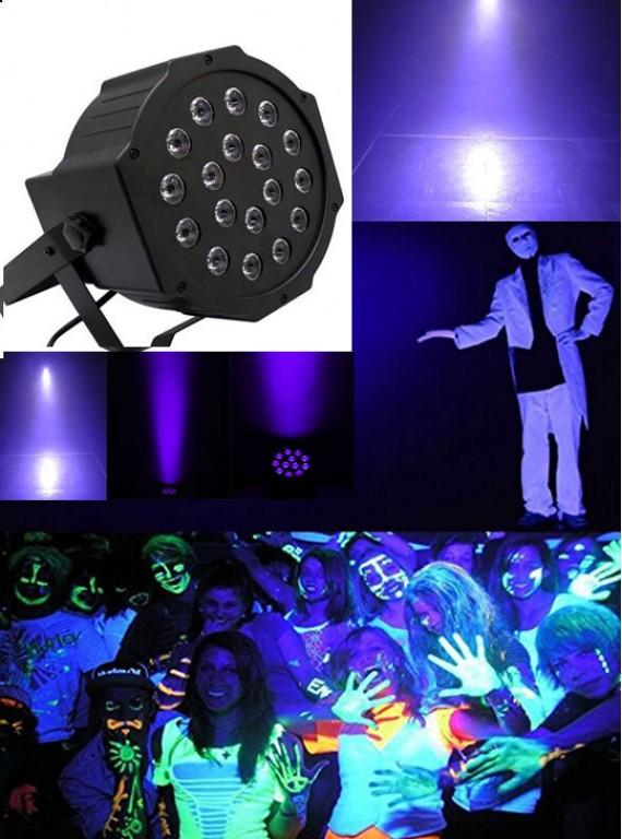 УФ светодиодный прожектор 18