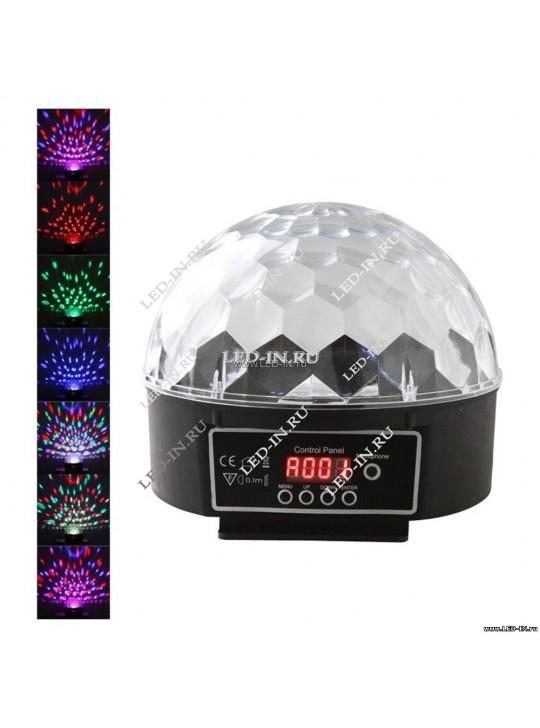 Дискошар Magic Cristal DMX  + пульт управления