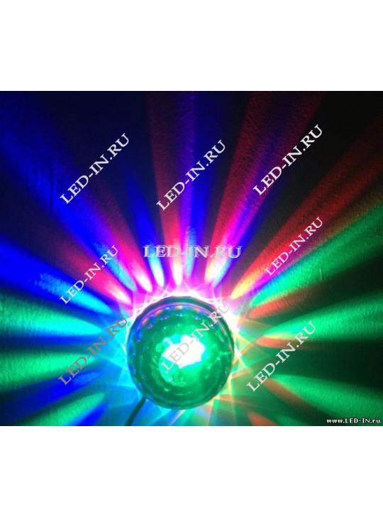 КОМПЛЕКТ: Лазерный проектор + Дискошар Мини