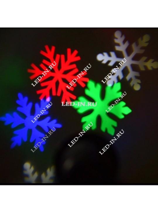 КОМПЛЕКТ: Лазерный проектор + Светодиодный проектор ТФ