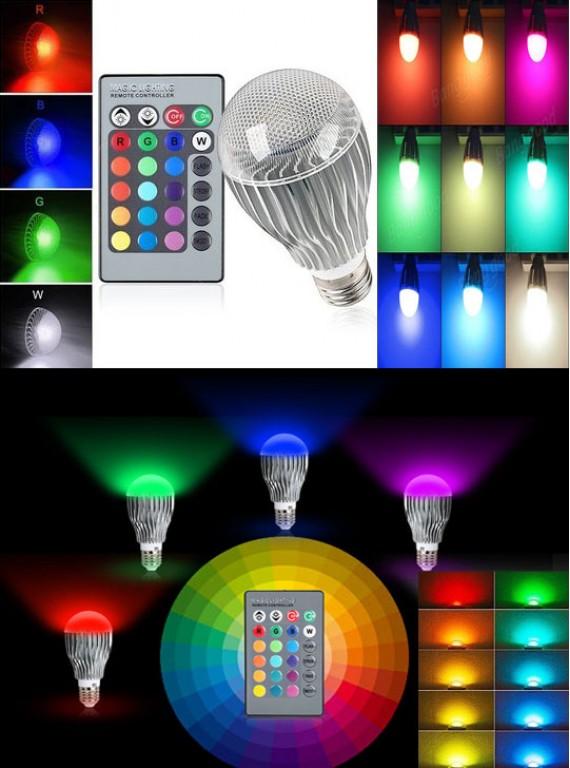 RGB LED-лампа E27