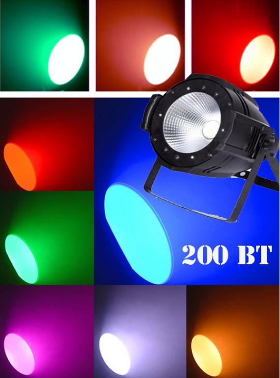 Светодиодный прожектор RGB 200