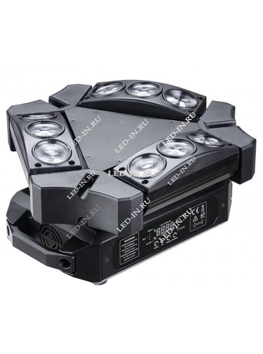 Светодиодный спайдер RGBW 9х10Вт