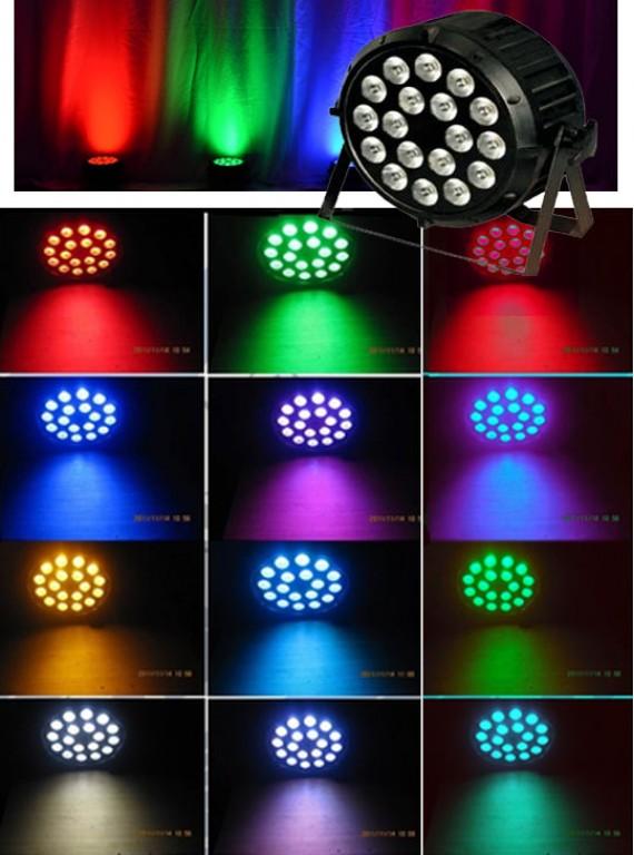 RGBW прожектор 144 Вт