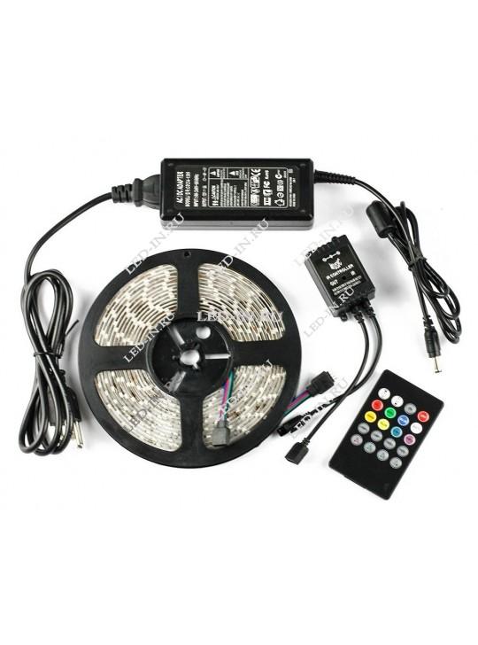 Светодиодная лента с Аудиоконтроллером