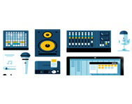 Звуковое оборудование: наушники, колонки, акустические системы